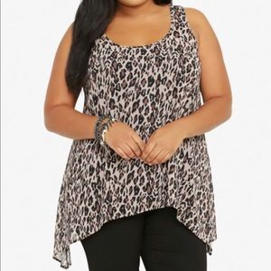 TORRID ANIMAL PRINT Shark Bite Tank
